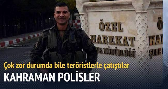 Ağır yaralı halde çatışıp teröristleri öldürdüler