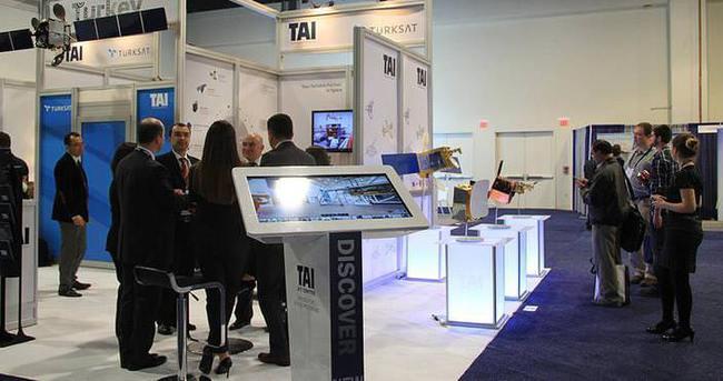 Türksat ve TAI ABD'de görücüye çıktı