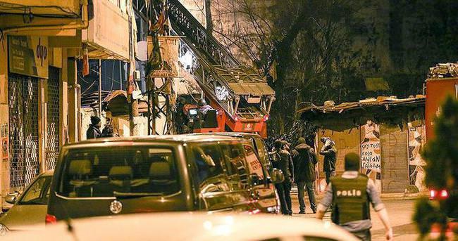 İstanbul'da terör örgütü DHKP-C'nin merkezine operasyon: 6 gözaltı