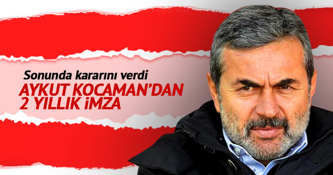 Aykut Kocaman, 2 yıl daha Torku Konyaspor'da