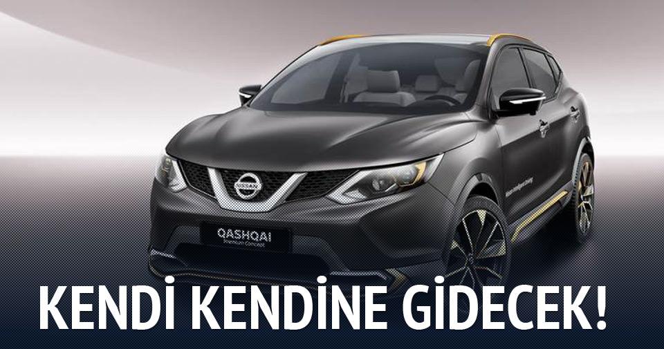 Nissan Qashqai kendi kendine gidecek