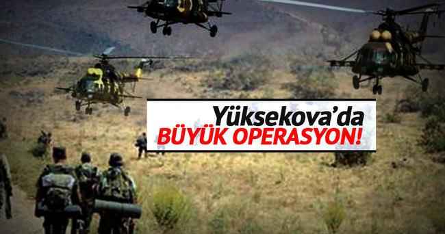 Yüksekova'da operasyon