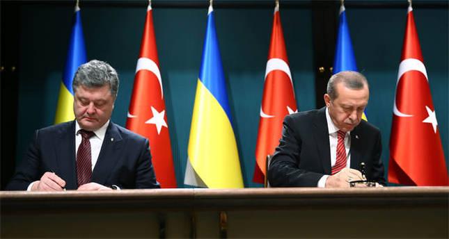 Türkiye ile Ukrayna arasında üç imza
