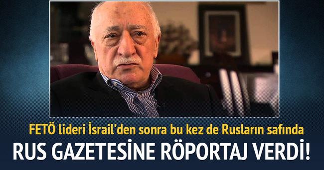 FETÖ lideri 'Moskof'un safında: 'Türkiye, Rus jetini vurmamalıydı'