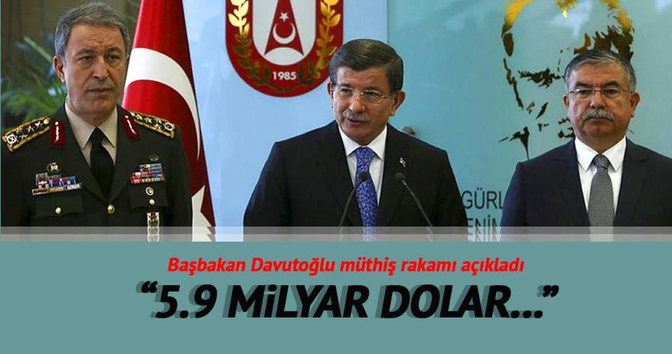 Davutoğlu: Bugün 5,9 milyar dolarlık projeye onay verdik