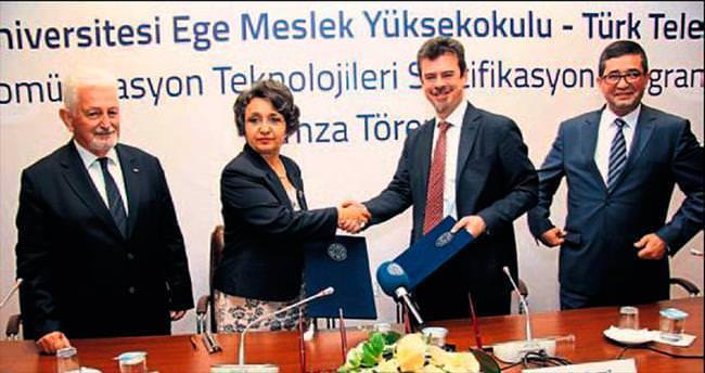 Telekomünikasyon eğitiminde dev işbirliği