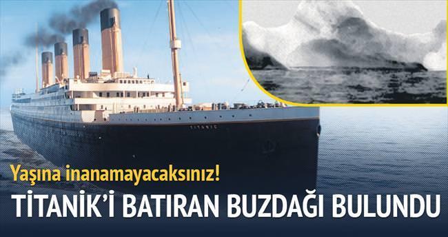 Titanik'i batıran buzdağı 100 bin yaşında çıktı