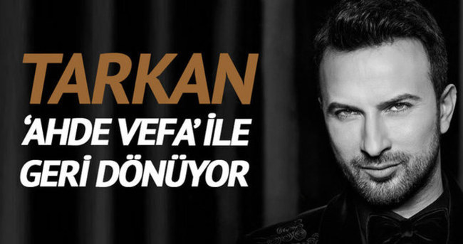 Tarkan'ın Ahde Vefa albümündeki şarkılar