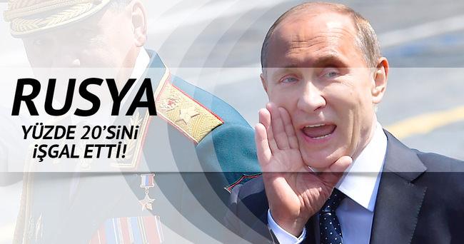 Rusya topraklarımızı işgal ediyor