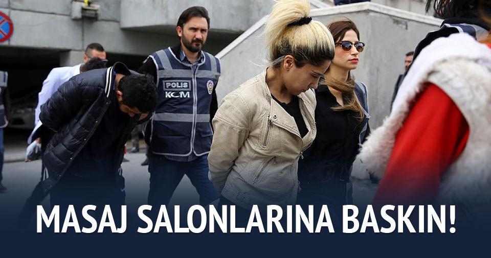 Ankara'da masaj salonu operasyonu