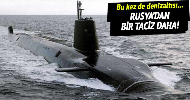 Rusya'dan Fransa'ya denizden taciz