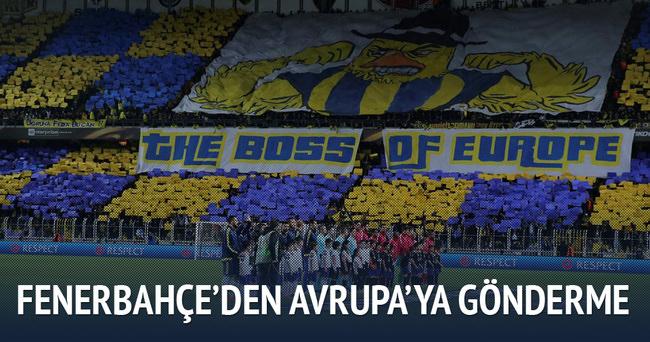Avrupa'nın patronu Fenerbahçe!