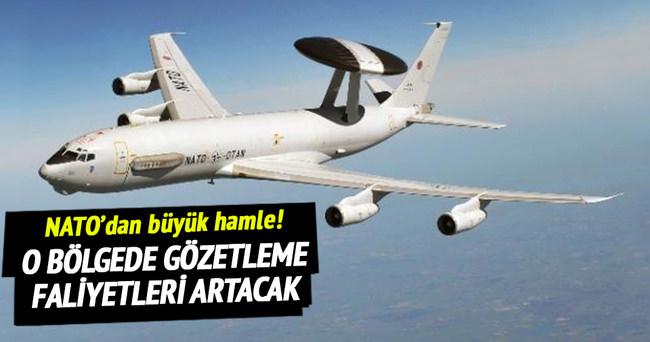 NATO'dan Suriye sınırına hamle!