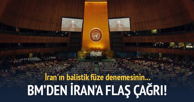 BM Genel Sekreteri Ban'dan İran'a 'gerilimi yükseltmeyin' çağrısı