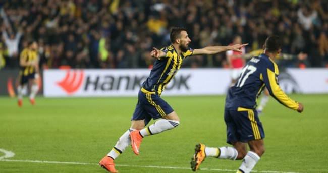 Fenerbahçe Braga maçı özeti - Mehmet Topal'dan muhteşem gol
