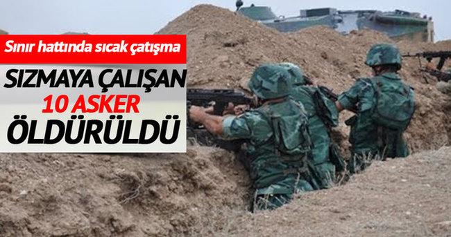 Azerbaycan-Ermenistan sınır hattında çatışma: 10 ölü