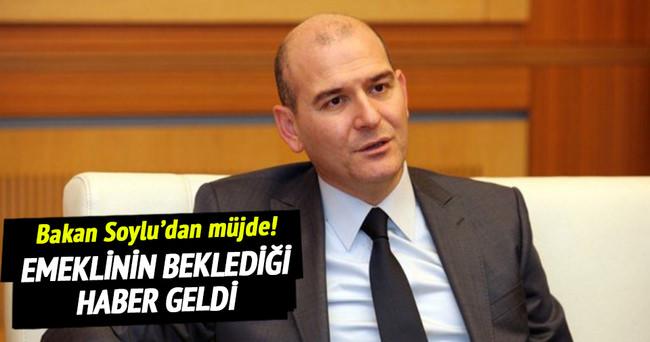 Çalışma Bakanı Soylu'dan önemli emekli açıklaması