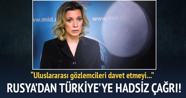 Rusya'dan Türkiye'ye hadsiz çağrı