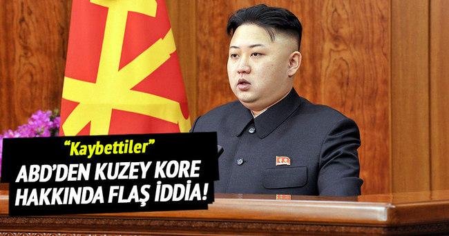ABD'den Kuzey Kore hakkında flaş iddia!