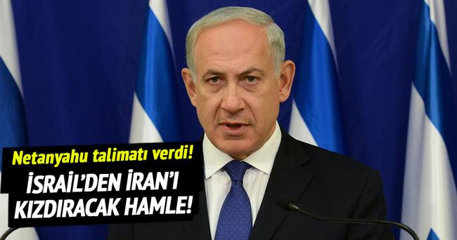 Netanyahu'dan İran'a yaptırım talebi