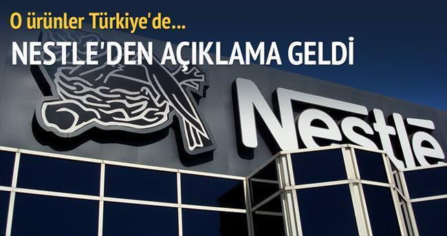 Nestle: O ürünler Türkiye'de yok