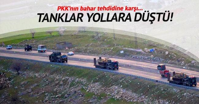 PKK'nın bahar tehdidine karşı önlemler alındı!