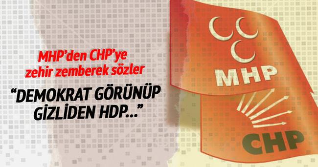 MHP'den CHP'ye zehir zemberek sözler