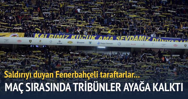 Ankara saldırı sonrası Fenerbahçe Stadı...