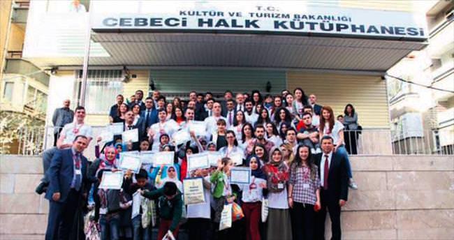 Avrupalı öğrenciler 20 Suriyeli çocukla buluştu