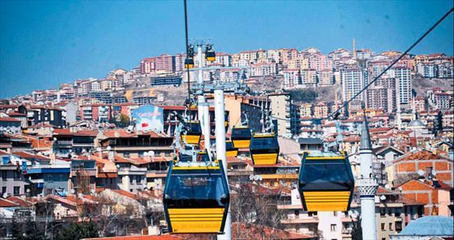 Teleferik Türkiye'ye örnek oldu