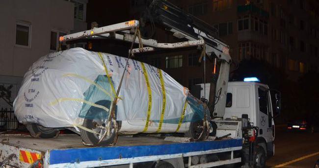Ankara'daki terör saldırısında hasar gören araçlar kaldırıldı