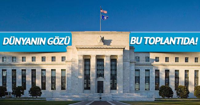 Piyasalar Fed'in kararına odaklandı