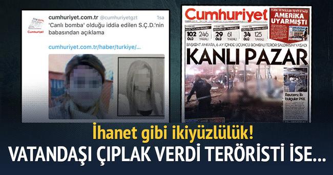Cumhuriyet vatandaşı çıplak verdi teröristi ise...