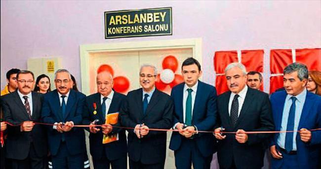 Arslan Bey'in adı KSÜ'de yaşatılıyor