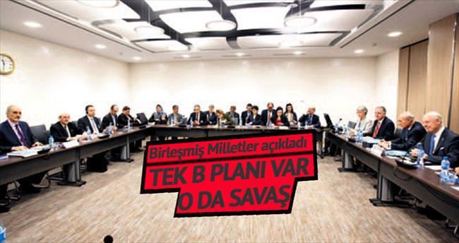 BM Suriye temsilcisi: Tek B planı savaş