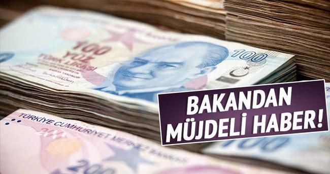 Ocak-şubat döneminde bütçe 6,6 milyar lira fazla verdi