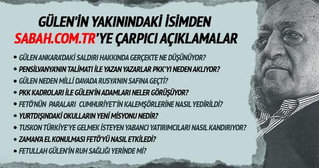 Gülen'in yakınındaki isimden çarpıcı açıklamalar