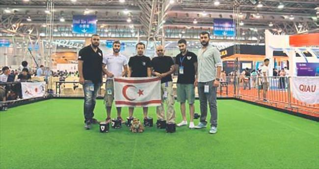 YDÜ robot takımı Dünya Kupası'nda