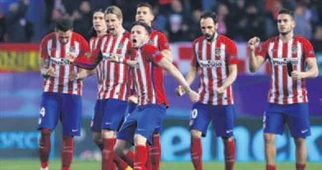 Atletico Madrid penaltılarla turladı