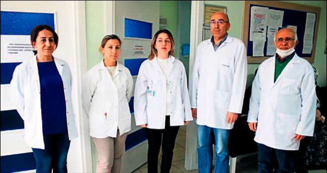 Kadın doktora hasta şiddeti