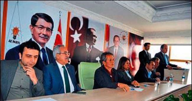 AK Parti Korkuteli istişarede bulundu