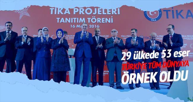 Türk tipi kalkınma dünyaya örnek oldu