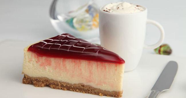 frambuazlı cheesecake ile ilgili görsel sonucu