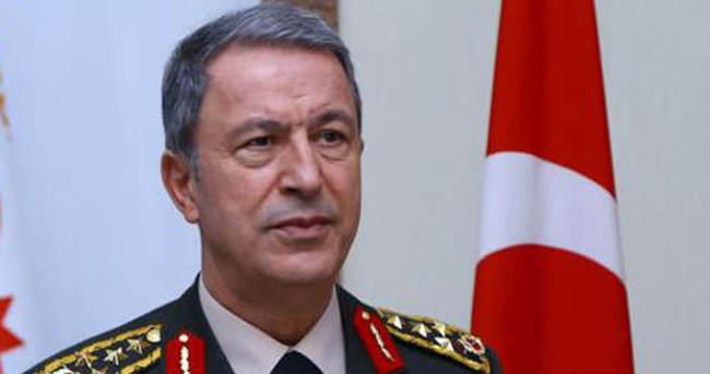 Genelkurmay Başkanı Orgeneral Hulusi Akar'dan flaş açıklama