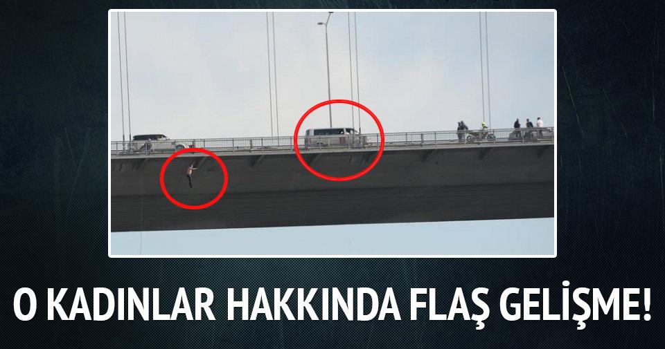Boğaziçi Köprüsü'ndeki intiharda iki kadından 10'ar yıl istendi