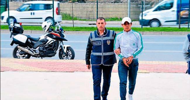 Alanya'da balkon hırsızları yakalandı