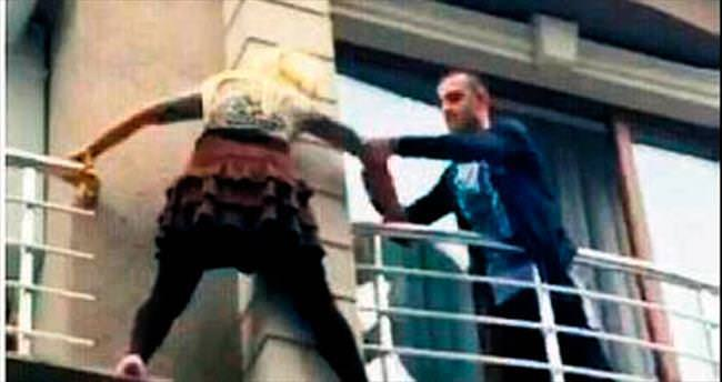 Balkondan kaçışın ardından sevgili işkencesi çıktı
