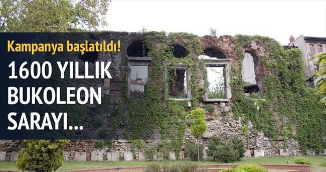 1600 yıllık Bukoleon Sarayı yok oluyor