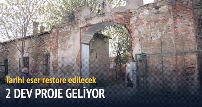 İstanbul'a kütüphane Konya'ya mevlevihane