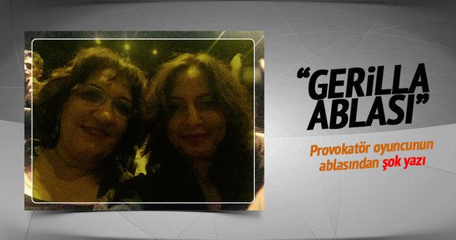 Fusün Demirel'e ablasından 'gerilla' desteği!
